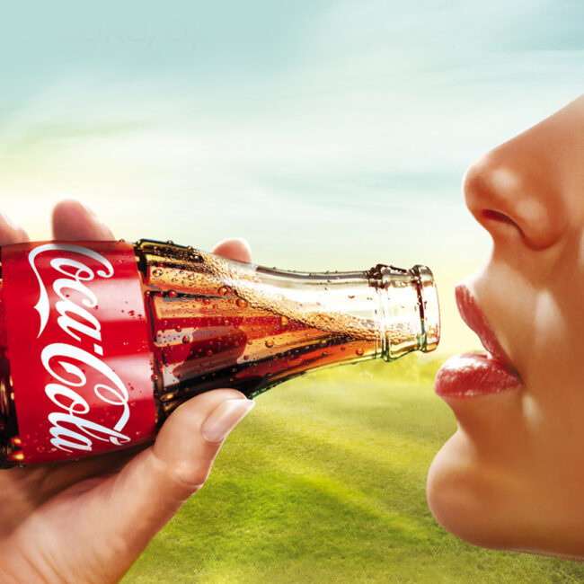 Coca-Cola summer visual