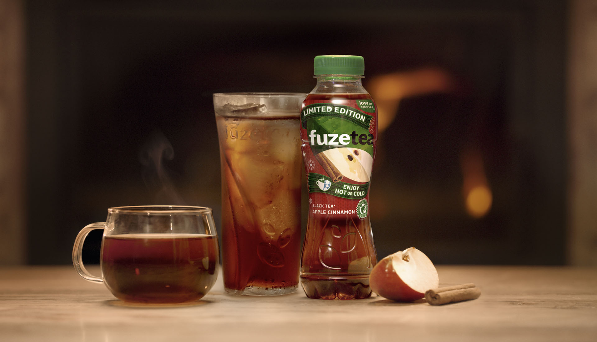 KULT Fuze Tea winter TV commercial 4